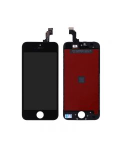 "Semi-Original Apple iPhone 5S/SE 4.0 "" LCD Screen and Digitizer Assembly with Frame Replacement - Black"
