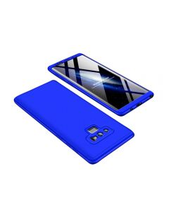 Samsung Galaxy Note 9 Electroplated 360 Full Protection Slim Cover Case - Blue