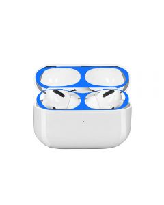 Dustproof Sticker Guard For Apple AirPods Pro Earphone Case Protective Sticker (AirPods Not Included) - Blue