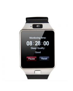 Bluetooth Smart Watch DZ09 Multifunction Sport GSM SIM Card For Android Phone - Silver
