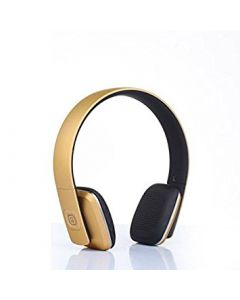 Bluetooth V4.0 Wireless Over the Ears Headphone Headset with Microphone QC35 - Gold