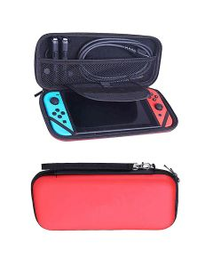 Hard Protective Pouch Bag Case Cover Bag Accessory For Nintendo Switch Console NS V1 V2 - Red