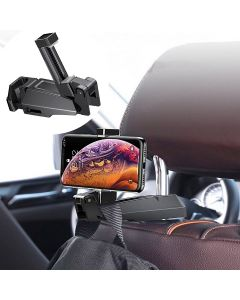 Universal 360 Rotation Car Back Seat Auto Hook Hanging Storage Mount Phone Holder For Mobile Phones 4.0-6.5 inch