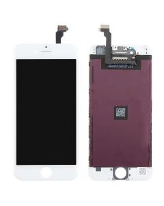 """Semi-Original Apple iPhone 6 4.7 """" LCD Screen and Digitizer Assembly with Frame Replacement - White"""