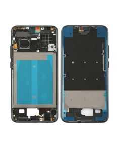 Replacement Front Housing LCD Frame Bezel Plate Compatible With Huawei Honor 10 - Black