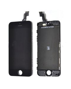 iPhone 5C Replacement LCD Screen and Touch Glass Digitizer Full Assembly - Black