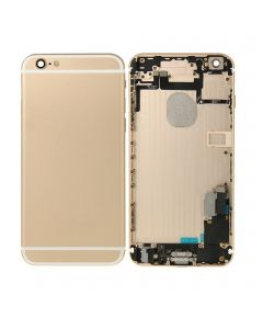 Replacement Back Housing with Parts Compatible With Apple iPhone 6S Plus - Gold