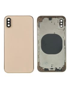 Replacement Battery Back Housing Glass Cover Compatible With Apple iPhone XS - Gold