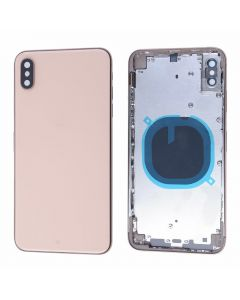 Replacement Battery Back Housing Glass Cover Compatible With Apple iPhone XS Max - Gold