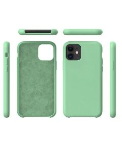 Liquid Gel Silicone Rubber Protective Case Cover For Apple iPhone 11 6.1'' - Green