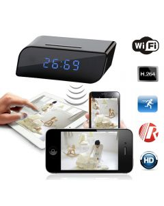 Wifi IP Network Function Support Smartphone Tablet APP Remote View and Control Support PC Computer View and Control Support Motion Detective Recording Real-time Audio & Video Recording 1280x720P HD Video Resolution IR Night Vision Support 32GB TF Card in