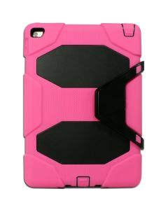 """Heavy Duty Protective Case Cover for Apple iPad 9.7"""" 5(2017)/6(2018)/iPad Air 2 - Hot Pink"""