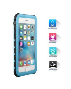 Heavy Duty Waterproof Shockproof Case Cover For iPhone 7 Plus - Blue