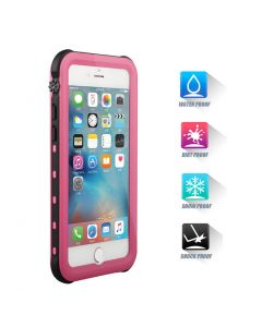 Heavy Duty Waterproof Shockproof Case Cover For iPhone 7 - Pink