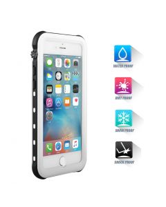Heavy Duty Waterproof Shockproof Case Cover For iPhone 7 Plus - White