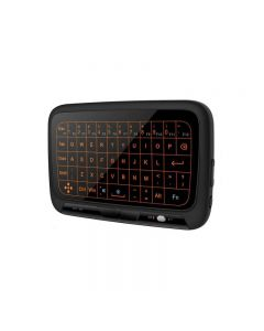 Backlight Full Touchpad Mini Wireless Keyboard 2.4GHz Air Mouse for TV Box Pad IPTV PC HTPC HD Player