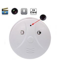 Hidden Camera Smoke Detector Motion Activated Video Recorder HD 1280x960 Mini DVR Security Camcorder