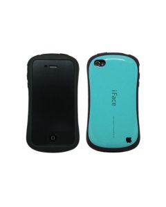 iFace Ultra Shock-Absorbing Bumper Case Cover Skin Protect for iPhone 4 - TEAL