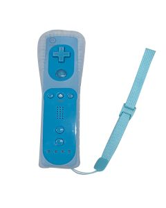 Replacement Wii Remote Controller (Without Built-in Motion Plus) - Blue