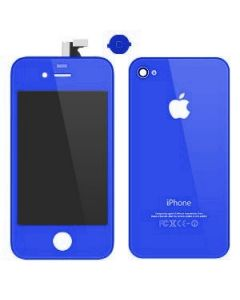 Iphone 4S Replacement Back Cover - Dark Blue