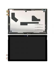 Replacement LCD Display Touch Screen Digitizer Assembly Compatible With Microsoft Surface Pro 5 12.3'' (1796) / Microsoft Surface Pro 6 - Black