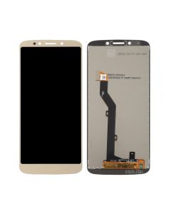 Replacement LCD Display Touch Screen Digitizer Assembly Compatible With Motorola Moto E5 (XT1944) - Gold