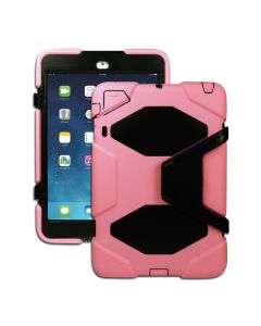 Heavy Duty Shockproof Case W/ Stand for Apple Ipad Mini 1/2/3 - Pink