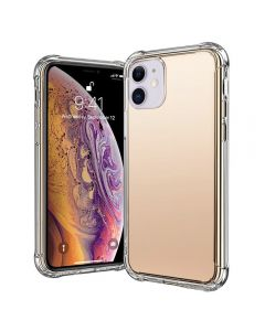 Anti Shock Air Bag Cellphone Case Cover For Apple iPhone 11 6.1''- Clear