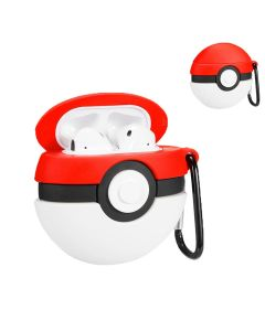 TPU Silicone 3D Ball Design Protective Cover Charging Case Cover Accessory For AirPods 1 / AirPods 2 Case