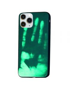 Thermal Sensor Color Changing Heat Sensitive Magical TPU Back Cover Case For Apple iPhone 11 Pro - Green