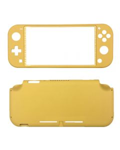 Replacement Complete Housing Frame Front & Back Cover Faceplate For Nintendo Switch Lite - Yellow