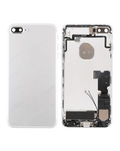 """Replacement Back Housing With Parts Compatible With Apple iPhone 7 Plus 5.5"""" - Silver"""