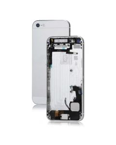 Metal iPhone 5 Back Cover Housing Assembly With Middle Frame Bezel And Other Parts - White