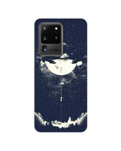 TPU Silicone Soft High Quality 3D Print Back Cover Case For Samsung Galaxy S20 Ultra 5G - MoonLight Design