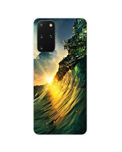 TPU Silicone Soft High Quality 3D Print Back Cover Case For Samsung Galaxy S20+ Plus 5G - Nature Design