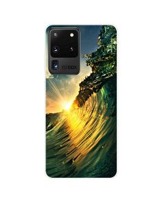 TPU Silicone Soft High Quality 3D Print Back Cover Case For Samsung Galaxy S20 Ultra 5G - Nature Design