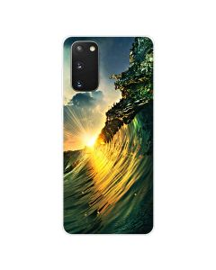 TPU Silicone Soft High Quality 3D Print Back Cover Case For Samsung Galaxy S20 5G - Nature Design