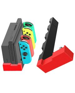 Game Controller Charger Charging Dock Stand Station Holder Mount Stand For Nintendo Switch JoyCon & Switch Charging Dock