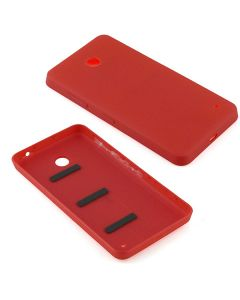 Nokia Lumia 635 Back Battery Door Cover Housing Replacement - Red