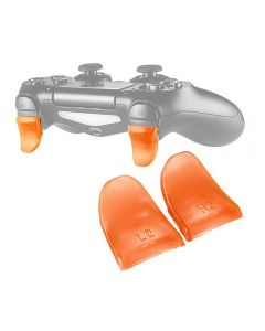 L2 R2 Buttons Extension Trigger Extenders Extend Button 1 Pair For PlayStation 4 / PS4 Slim / PS4 Pro DualShock 4 DS4 V1 V2 Controllers - Orange
