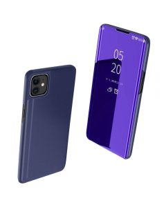 Full 360 Body Protective Mirror Case Cover For Apple iPhone 11 6.1'' - Purple