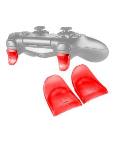 L2 R2 Buttons Extension Trigger Extenders Extend Button 1 Pair For PlayStation 4 / PS4 Slim / PS4 Pro DualShock 4 DS4 V1 V2 Controllers - Red