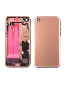 "Replacement Back Housing With Parts Compatible With Apple iPhone 7 4.7"" - Rose Gold"