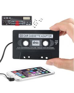 Audio Tape 3.5mm Jack Car Audio Tape Cassette Adapter AUX Audio Adapter For iPhone iPod Android MP3 Player CD Radio