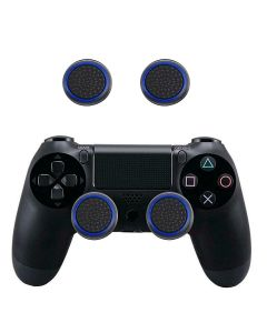 2 PC's Set Silicone Protective Thumb Stick Grip Caps Thumbgrip's For PS4 PS3 Xbox 360 Xbox One Game Controllers - Blue