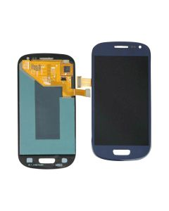 Replacement LCD Display Touch Screen Digitizer Assembly Compatible With Samsung Galaxy S3 Mini - Blue