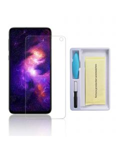 Replacement UV Tempered Glass Screen Protector Compatible With Samsung Galaxy S10E