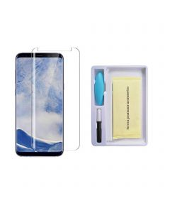 Replacement UV Tempered Glass Screen Protector Compatible With Samsung Galaxy S9