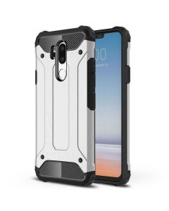 LG G7 King Kong Iron Armor 2 in 1 Anti Fall Cover Case - Silver