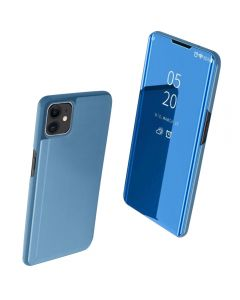 Full 360 Body Protective Mirror Case Cover For Apple iPhone 11 6.1'' - Sky Blue